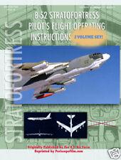 BOEING B-52 BOMBER CREW AIRCRAFT Pilot Manual BOOK