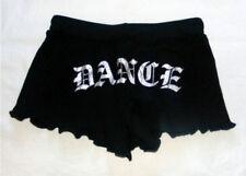 "Frontline 200-262 Black Women's Small (4-6) Sassy ""Dance"" Shorts"