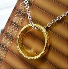 Lord of the Rings LOTR Hobbit Necklace Ring Amulet Celtic Pendant FREE POST A005