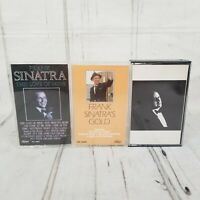 Frank Sinatra Cassette tape Lot Gold This Love Of Mine Trilogy