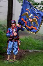 COLLECTORS SHOWCASE CIVIL WAR UNION CS01027 72ND PENNSYLVANIA FLAG BEARER MIB