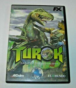 Turok PC edición española muy buen estado