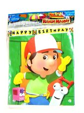 NEW   HANDY MANNY 1- PLASTIC BANNER-  PARTY SUPPLIES