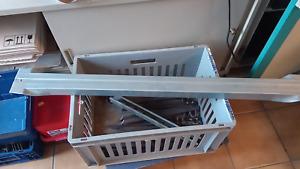 Tiefensteg Tiefenstege für Palettenregal  Schwerlastregal 1100 mm Regaltiefe