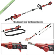 Cordless Pole Saw 8 inch Craftsman Saws 24V Li-Ion Oregon Chain Yard Chainsaw