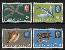 Barbados 1965 Elizabeth & Fish set Sc# 267-80 NH