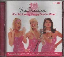 THE SHEILAS (i'm so) happy happy (you're mine)     6 TRACK CD  NEW - NOT SEALED