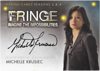 Fringe Seasons 3 & 4 Auto Autograph Card Michelle Krusiec A14 A-14