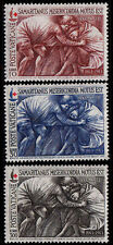 VATICAN CITY - Scott 392-394 - 1964 Red Cross - The Good Samaritan - MNH - Art