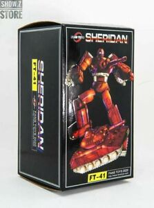 Transformers Masterpiece Sheridan FT-41
