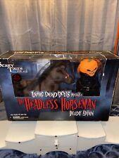 Mezco Living Dead Dolls Headless Horseman Deluxe Horse Set Rare Awesome?