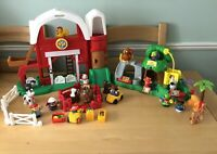 Fisher Price Little People Fun Sounds Farm & Animal Sounds Zoo Figures Animals