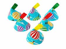 Pee Pee Teepee x6 Wee Stop Cones Teepees, Boy Baby Shower Gift / Hot Air Balloon