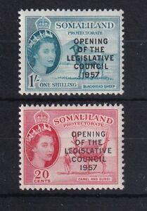 SOMALILAND PROTECTORATE 1957 Opening of Legislative Council Set LMM