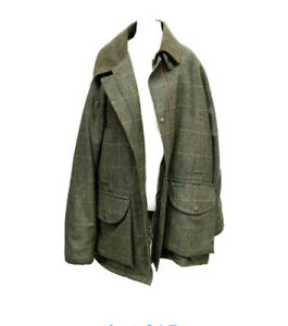 Hucklecote Tweed Shooting Jacket Size XL Unworn