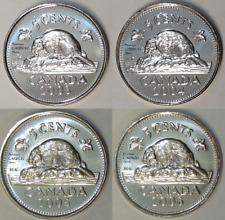 2003 to 2006 P Canada 5 Cents BU