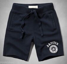 ABERCROMBIE & FITCH Athletic Men's Fleece Gym Shorts XL $50 **BNWT**  A&F
