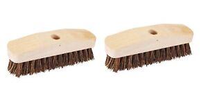 Deck Scrub Brush - Pack of 2
