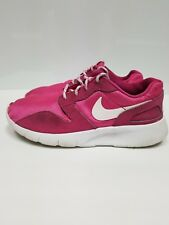 Nike, Girl's, Pink & White, Youth Size 4Y, Running / Walking, Shoes