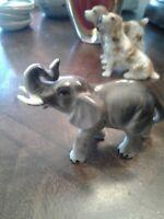 Miniature Elephant Think HAGEN RENAKER ~ EUC