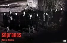 (LAMINATED) SOPRANOS GROUPS - JUNK YARD POSTER (87x57cm)  NEW WALL ART