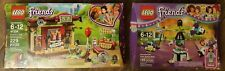 LEGO Friends Amusement Park Space Ride 41128 & Andrew's Park Performance 41334