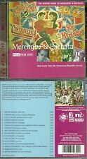 RARE / CD - MERENGUE ET BACHATA : LATIN MUSIC FROM DOMINICAN REPUBLIC STREETS