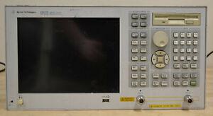 HP Agilent E5071B ENA Network Analyzer 300khz-8.5GHz PARTS UNIT, READ