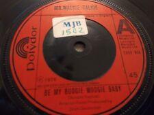 """MR WALKIE TALKIE """" BE MY BOOGIE WOOGIE BABY """" 7"""" SINGLE EXCELLENT 1976"""