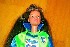 Vintage 1993 Mattel Barbie WNBA Teresa Doll - Used