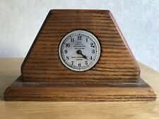 Vintage Mantel Clock The Servid Recorder London British Made Manual