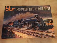 Blur - Modern Life Is Rubbish Rare Promo Print