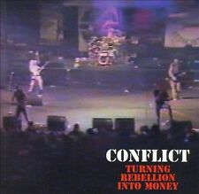 Conflict - Punk - TURNING REBELLION INTO MONEY CD - Brand New