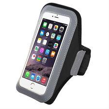 Black Neoprene Workout Sport GYM Armband Case Holder For Samsung Galaxy Note 9/8