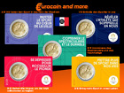 2 Euro Frankreich 2021 Olympische Spiele 2024 in Paris CoinCard  als Varianten