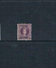 Grenada 1881 Mint Overprint Stamp