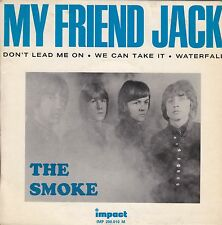 "THE SMOKE - MY FRIEND JACK - RARE 1966 ORIGINAL IMPACT FRENCH 7"" EP - PSYCH MOD"