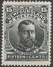 Newfoundland Scott Number 103 VF H Cat C$100 Reduced