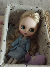 """12"""" Neo Nude Blond hair matte face  Blythe doll From Factory  JSW97001"""
