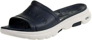 Skechers Men's Cali Gear Slide Sandal  8, Black/Grey