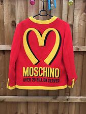 GENUINE Moschino McDonalds Ladies Blazer Jacket - Jeremy Scott - Size Medium 12