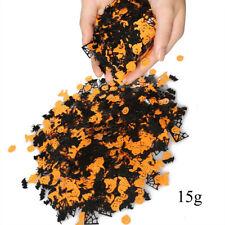 15g Halloween Confetti Pumpkin Spider Bat Witch Sprinkles Confetti Party Decor