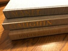 Lot of 3...The Library of Great Painters..Manet, Gauguin and Impressionism..