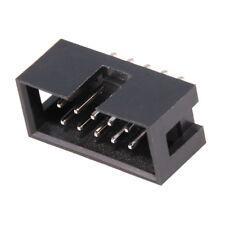 Connettore Maschio Diritto IDC 10 pin per Cavo Piatto Ribbon Flat