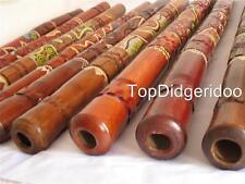 """47""""120cm TURTLE HANDCARVED DOT PAINTED Aboriginal Digeridoo Didjeridu Degeridu"""
