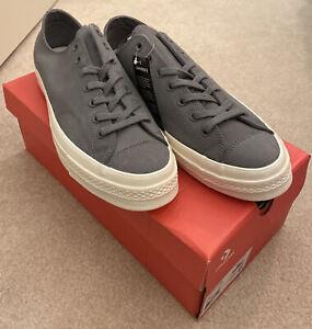 Converse All Star Chuck Taylor 70 OX Gray Sneakers Men's 11 NIB