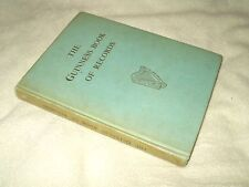 Book Hardback The Guinness Book Of Records October 1964