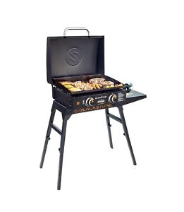 Blackstone 1833 Tabletop Griddle with Hood and Stand FREE SHIPPING- SHIP TODAY