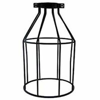 Industrial Wire Cage Frame Retro Ceiling Pendant Light Hanging Lamp Lampshade UK