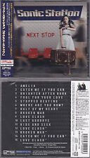 Sonic stazione-NEXT Stop +4 (JAPAN CD + OBI, 2015) Lionville, work of art, Toto, AOR